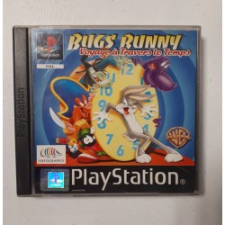 BUGS BUNNY VOYAGE A TRAVERS LE TEMPS COMPLET PS1