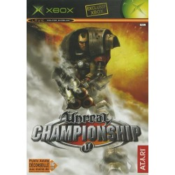 UNREAL CHAMPIONSHIP XBOX COMPLET