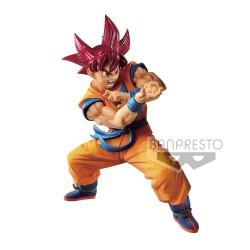 DRAGON BALL SUPER SSGS GOKU SPECIAL 6 BLOOD OF SAIYANS 17 CM
