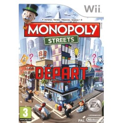 MONOPOLY STREETS COMPLET WII