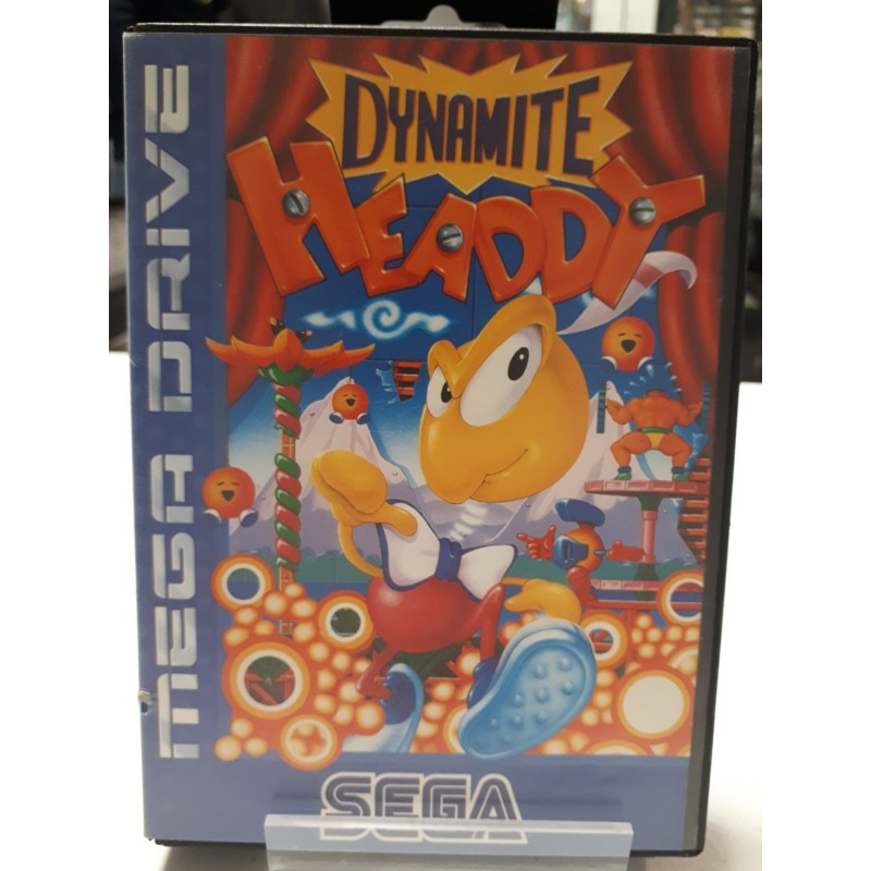 DYNAMITE HEADDY COMPLET MEGA DRIVE