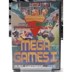 MEGA GAMES 1 COMPLET MEGA DRIVE