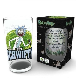 VERRE LARGE GET SCHWIFTY RICK AND MORTY