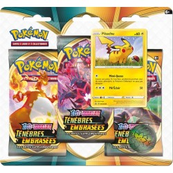 PACK POKEMON 3 BOOSTERS FIN ANNEE 2020