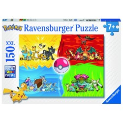 PUZZLE POKEMON TYPES 150 PCS