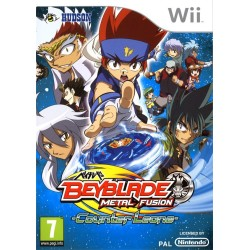 BEYBLADE METAL FUSION WII