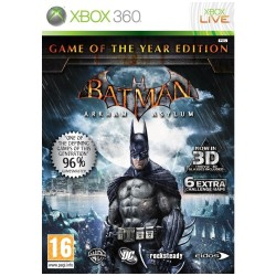 BATMAN ARHAM ASYLUM GAME OF THE YEAR EDITION COMPLET XBOX 360