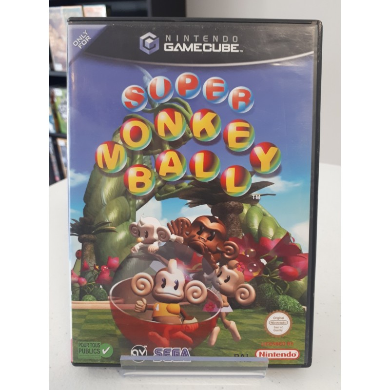 SUPER MONKEY BALL COMPLET GAMECUBE