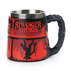 MUG STRANGER THINGS POLYRESIN SCULTE 350ML