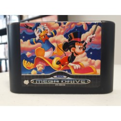 WORLD OF ILLUSION STARRING DISNEY MICKEY AND DONALD DUCK LOOSE MEGA DRIVE