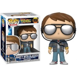 FUNKO POP MARTY WITH GLASSES 958