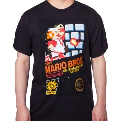 T-SHIRT MARIO BROS VINTAGE NES