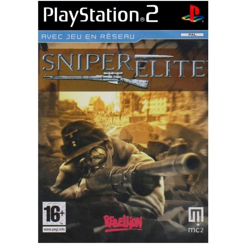 SNIPER ELITE COMPLET PS2