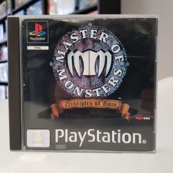 MASTER OF MONSTERS DISCIPLE OF GAIA COMPLET PS1