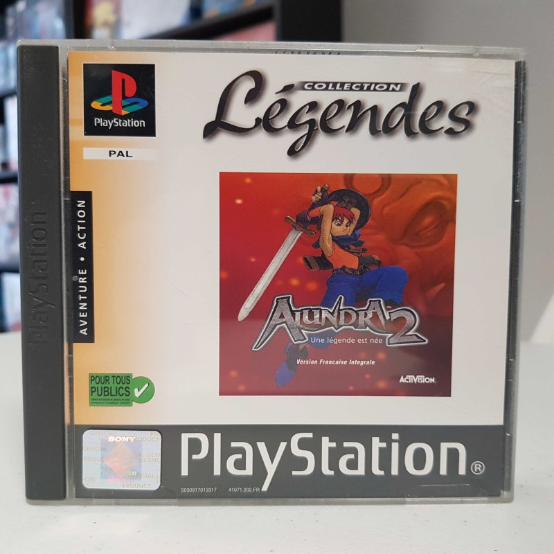 ALUNDRA 2 COLLECTION LEGENDES COMPLET PS1