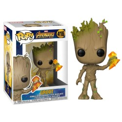 FUNKO POP GROOT WITH STORMBREAKER 416