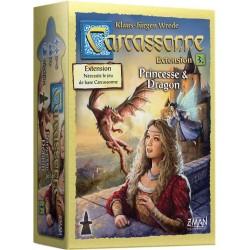 CARCASSONNE PRINCESSE ET DRAGON (EXT)