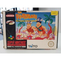 THE FLINSTONES THE TREASURE OF SIERRA MADROCK COMPLET NOE SNES