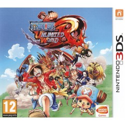 ONE PIECE UNLIMITED WORLD 3DS