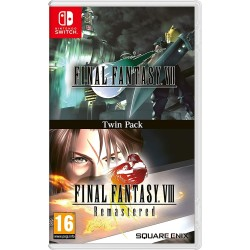 FINAL FANTASY VII + FINAL FANTASY VIII REMASTERED TWIN PACK SWITCH EUR