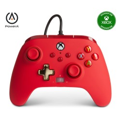 MANETTE FILAIRE RED XBOX ONE SERIE X POWER A