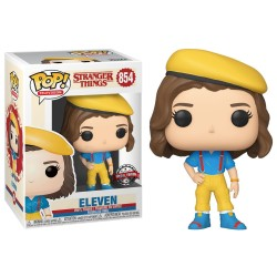 FUNKO POP STRANGER THINGS ELEVEN IN YELLOW OUTFIT 854