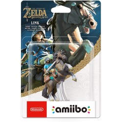 AMIIBO LINK A CHEVAL THE LEGEND OF ZELDA BREATH OF THE WILD