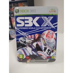 SBK X COMPLET STEELBOOK XBOX 360