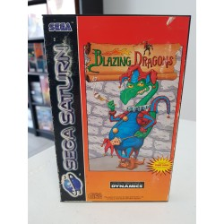 BLAZING DRAGONS COMPLET PAL SATURN