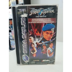 STREET FIGHTER THE MOVIE COMPLET BOITE CASSE PAL SATURN