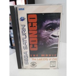 CONGO THE MOVIE COMPLET US SATURN