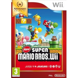 NEW SUPER MARIO BROS NINTENDO SELECTS COMPLET WII