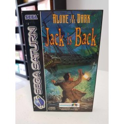 ALONE IN THE DARK JACK IS BACK COMPLET BOITE DECHIREE PAL SATURN