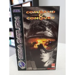 COMMAND & CONQUER COMPLET PAL SATURN