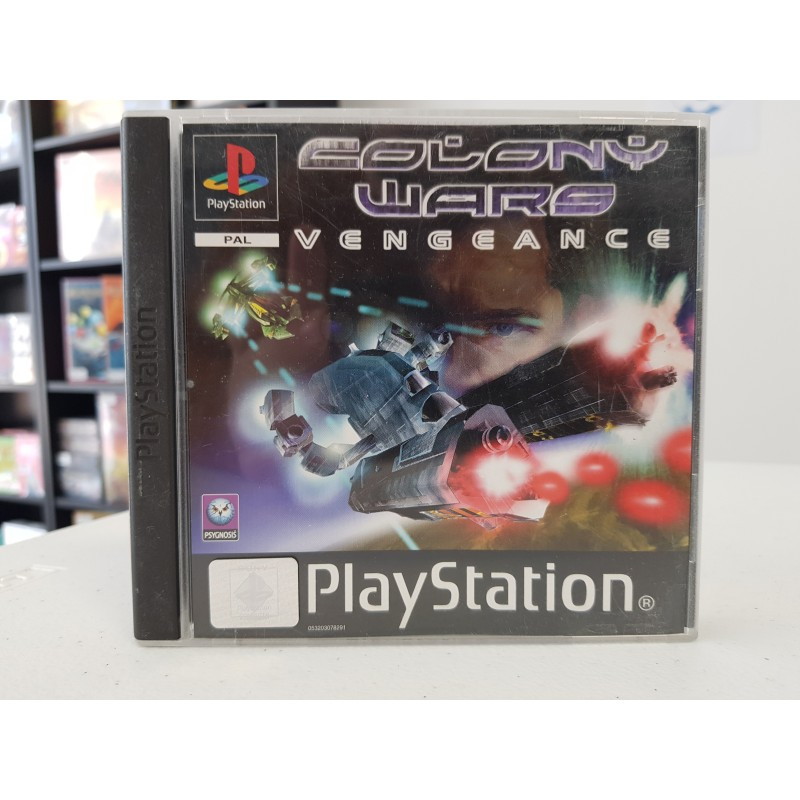COLONY WARS VENGEANCE COMPLET PS1