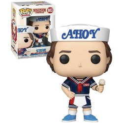 FUNKO POP STEVE WITH HAT AND ICE CREAM 803