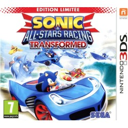 SONIC ALL STARS RACING TRANSFORMED 3DS