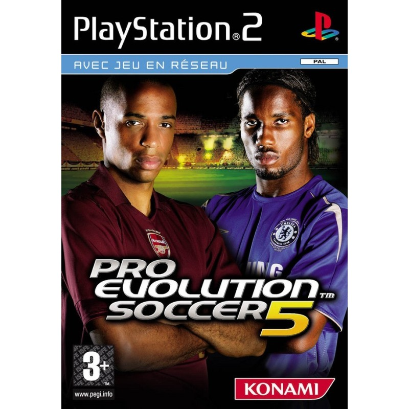 PES 5 COMPLET PS2