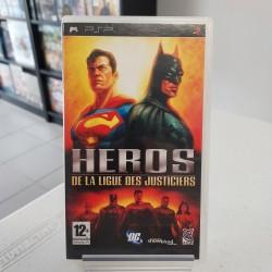 HEROS DE LA LIGUE DES JUSTICIERS COMPLET PSP