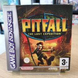PITFALL THE LOST EXPEDITION COMPLET EN BOITE GBA UKV