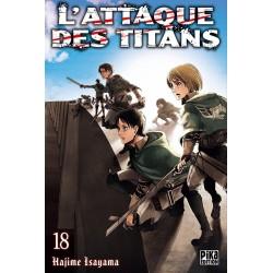 VOL. 18 ATTAQUE DES TITANS