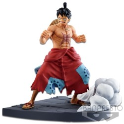 FIGURINE ONE PIECE MONKEY D LUFFY LOG FILE SELECTION VOL.1