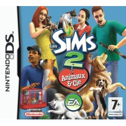 LES SIMS 2 ANIMEAUX & CIE SANS NOTICE DS