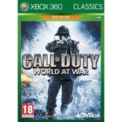 CALL OF DUTY WOLRD AT WAR CLASSICS XBOX 360