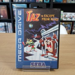 TAZ IN ESCAPE FROM MARS COMPLET MEGA DRIVE