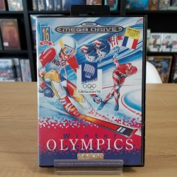 WINTER OLYMPICS MINT COMPLET MEGA DRIVE