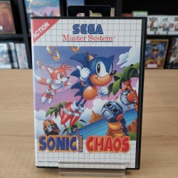 SONIC CHAOS SANS NOTICE MASTER SYSTEM