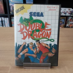 DOUBLE DRAGON COMPLET MASTER SYSTEM