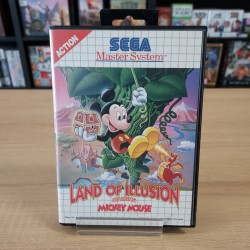 LAND OF ILLUSION STARRING MICKEY MOUSE SANS NOTICE MASTER SYSTEM