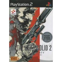 METAL GEAR SOLID 2 COMPLET PS2